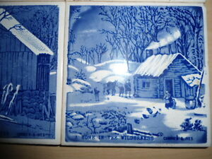 4 coasters/trivets - Currier and Ives designs Peterborough Peterborough Area image 3