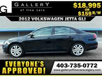 2012 Volkswagen Jetta GLI $159 bi-weekly APPLY NOW DRIVE NOW