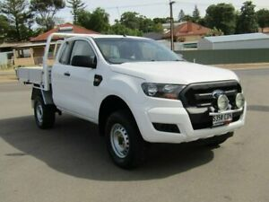 2016 Ford Ranger PX MkII XL Super Cab White 6 Speed Manual Cab Chassis Murray Bridge Murray Bridge Area Preview