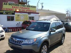 2013 SUBARU FORESTER X AWD AUTO LOADED -100% APPROVED FINANCING