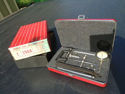 Starrett Dial Test Indicator 196 A With Case With Orig. Box