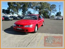2002 Holden Commodore VY Acclaim Red 4 Speed Automatic Sedan Warwick Farm Liverpool Area Preview