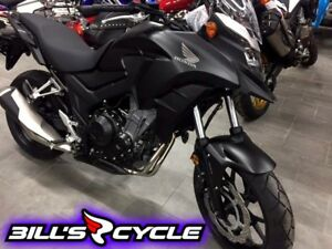 2017 HONDA On Road CB 500 XAH    AdventureAbs Black Matte