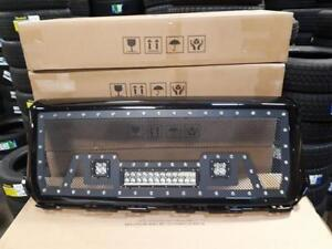 BRAND NEW 2014 & 2015 GMC SIEARRA 1500 BLACK MESH LED GRILL WITH FULL SHELL! - NO CUTTING REQ! - FINANCING AVAILABLE