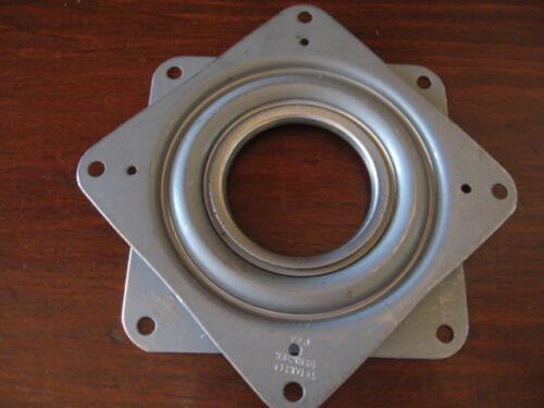 "Square 3"" Inch Lazy Susan Turntable Bearing (Made in the USA) 200 LB Capacity"