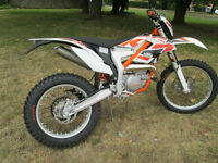 KTM FREERIDE 250 R 2016 ENDURO TRAIL MOTORCYCLE