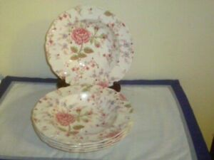 Johnson Bros Rose Chintz Soup Salad Pasta Bowls