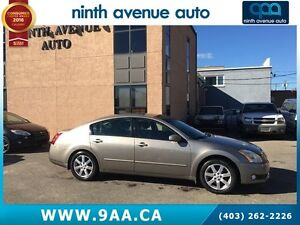 2006 Nissan Maxima SL LEATHER! MOONROOF! LOW KM