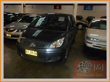 2005 Mitsubishi Colt RG LS Blue Continuous Variable Hatchback Warwick Farm Liverpool Area Preview