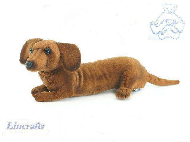 Dachshund Plush Soft Toy Dog by Hansa 4002  Cute little puppy