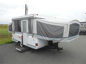 WOW!!! Coleman Sante Fe Tent Trailer with Bathroom! $3499 AS IS!