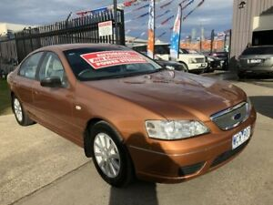 2006 Ford Fairmont BF Bronze 4 Speed Auto Seq Sportshift Sedan Brooklyn Brimbank Area Preview