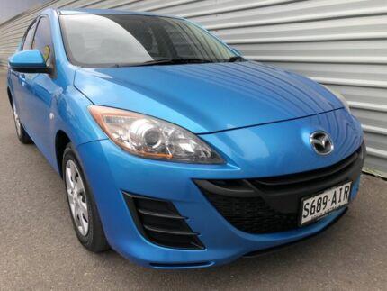 2010 Mazda 3 BL10F1 Neo Activematic Blue 5 Speed Sports Automatic Sedan Morphett Vale Morphett Vale Area Preview