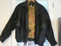 Men's quality leather jacket