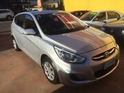 2015 Hyundai Accent Silver 4 Speed Automatic Sedan North Hobart Hobart City Preview