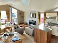 STUNNING PRE-OWNED STATIC LODGE FOR SALE WHITLEY BAY SITE FEES FREE FOR 2018 BUY NOW PAY 2018