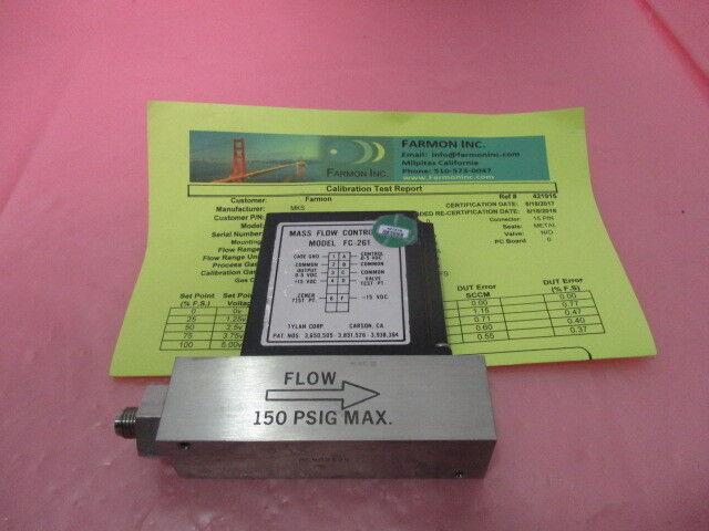 Tylan FC-261 Mass Flow Controller, MFC, AIR, 20 SLPM, 421315