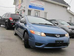 2008 Honda Civic Cpe DX-G Extra Clean Coupe Carproof Maintained