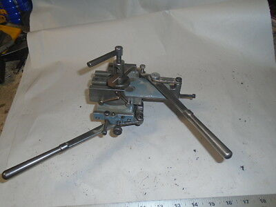 Machinist Lathe Mill Machinist Schaublin Jewelers Swiss Lathe Lever Cross Slide