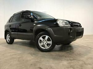 2005 Hyundai Tucson Black Sports Automatic Wagon Williamstown North Hobsons Bay Area Preview