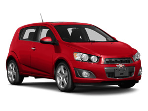 2014 Chevrolet Sonic LT with 138,000 highway km