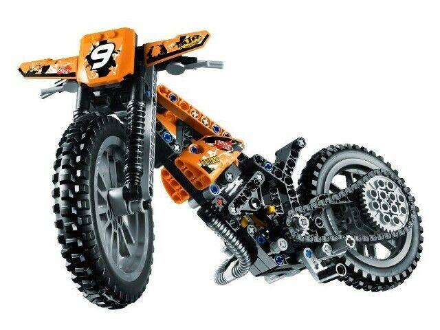 Lego - moto cross bike technic  réf 42007