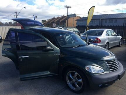 2000 Chrysler PT Cruiser PT Classic Wagon 5dr Man 5sp 2.0i [Jul] Green Manual Wagon