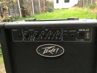 Peavey 'Solo' 12w guitar practice amplifier AS NEW!!