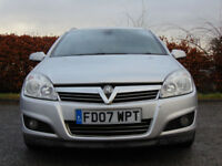 VAUXHALL ASTRA 1.6 DESIGN 5d (silver) 2007