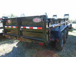 PJ TRIPLE AXLE DUMP TRAILER 21,000LB 7 X 16' BED YOUR BEST PRICE London Ontario image 3