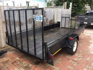 Utility trailer - Great condition - Lots of upgrades
