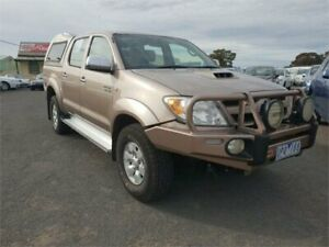 2007 Toyota Hilux KUN26R 06 Upgrade SR5 (4x4) Dusty Grey 5 Speed Manual Dual Cab Pick-up Delacombe Ballarat City Preview