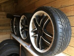 Mags wheels rims roues 20 inch 5x114.3  Pneus tires 245/35/R20