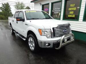 2012 Ford F-150 XLT Crew Ecoboost for $253 bi-weekly all in!