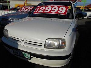 1995 Nissan Micra K11 SLX White 5 Speed Manual Hatchback Slacks Creek Logan Area Preview