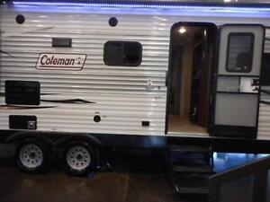 COME CAMP IN THIS COLEMAN BUNKHOUSE