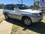 2005 Hyundai Terracan HP MY05 White 4 Speed Automatic Wagon Pearsall Wanneroo Area Preview