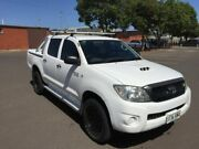 2008 Toyota Hilux KUN26R 08 Upgrade SR (4x4) 5 Speed Manual Dual Cab Pickup Clarence Gardens Mitcham Area Preview