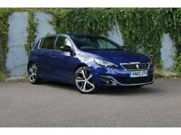 Peugeot 308 2.0 BlueHDi 150 GT Line DIESEL MANUAL 2015/65