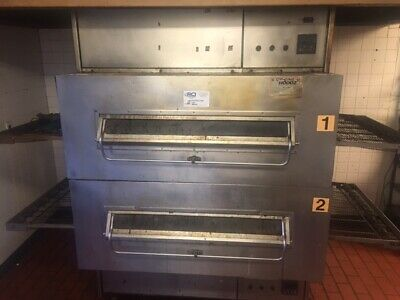 Middleby Marshall Ps360 Ps350 Double Stack Conveyor Pizza Ovens