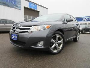 2010 Toyota Venza-PANO ROOF,LEATHER,AWD,REAR CAM,WARANTY,$11,895