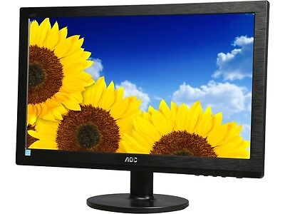 "شاشة ليد  AOC E2060SWD 20"" 5ms Widescreen LED Backlight LCD Monitor- Black"