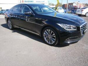 2014 Hyundai Genesis DH Onyx Black Sequential Auto Preston Darebin Area Preview
