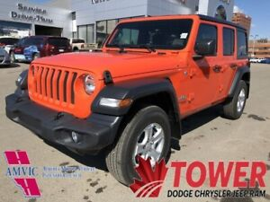 2018 Jeep Wrangler Unlimited Sport - FRONT HEATED SEATS AND STEE