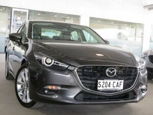 2018 Mazda 3 BN5238 SP25 SKYACTIV-Drive GT Grey 6 Speed Sports Automatic Sedan Edwardstown Marion Area Preview