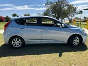 2012 Hyundai Accent RB Active Blue 4 Speed Sports Automatic Hatchback Tugun Gold Coast South Preview