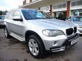 BMW X5 3.0 D SE 5STR 5d AUTO 232 BHP (silver) 2007