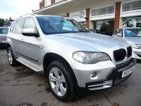 BMW X5 3.0 D SE 5STR 5d AUTO 232 BHP NOW REDUCED BY &poun (silver) 2007
