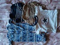 boys 6-9 months designer clothes next converse nike etc