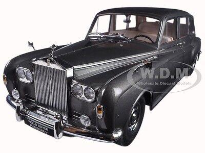 1964 ROLLS ROYCE PHANTOM V MPW GUNMETAL GREY LHD 1/18 MODEL CAR BY PARAGON 98214